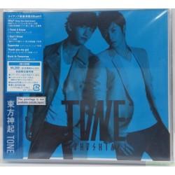 東方神起 TONE [Jacket B] (CD+DVD) 日本初回版B