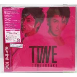 東方神起 TONE [Jacket A] (CD+DVD) 日本初回版A