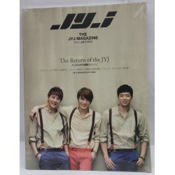 THE JYJ MAGAZINE no.2 The Return of the JYJ +DVD
