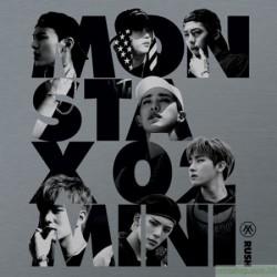 MONSTA X 第二迷你專輯RUSH 獨家限量親筆簽名進口版(Secret花絮寫真版)