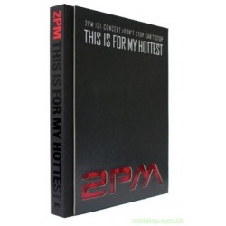 2PM 1ST CONCERT MAKING STORY PHOTOBOOK+DVD