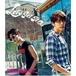 SUPER JUNIOR-D&E Single「Let's Get It On」日版A CD+DVD