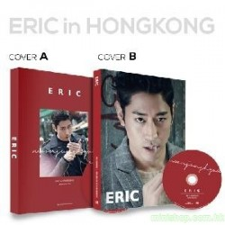 ERIC(MOON JUNG HYUK) The 1st PHOTOBOOK + DVD [ERIC in HONGKONG]