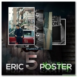Poster 5P Set [ERIC in HONGKONG] + Tube