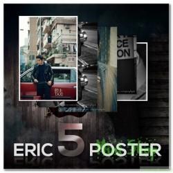 Poster 5P Set [ERIC in HONGKONG] + Tube