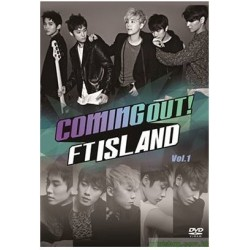 FTISLAND   Coming Out! FTISLAND DVD-SET1日版
