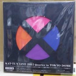 "KAT-TUN LIVE 2015 ""quarter"" in TOKYO DOME[DVD] 日版"