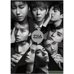 ZE:A帝國之子 CONTINUE 新歌+精選全紀錄 2010-2015 台灣獨占豪華限定盤2CD+DVD