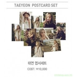 (Girls' Generation) TAEYEON少女時代太妍 POSTCARD SET