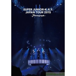 代訂『SUPER JUNIOR-K.R.Y. JAPAN TOUR 2015 ~phonograph~』ライヴ写真集