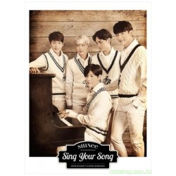 SHINee New Single [Sing Your Song] 日版初回