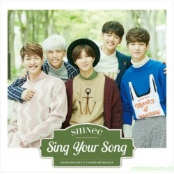 SHINee New Single [Sing Your Song] 日版通常盤