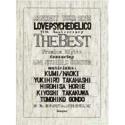 LOVE PSYCHEDELICO 15TH ANNIVERSARY TOUR -THE  BEST- LIVE(2CD+BLU-RAY) 日版