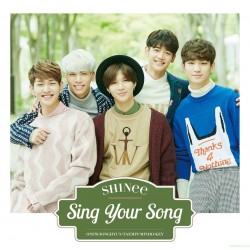 [台版]SHINee Sing Your Song CD+小卡