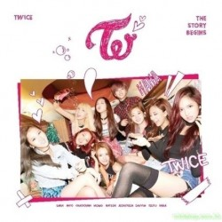 TWICE THE STORY BEGINS CD+DVD 台壓版
