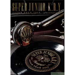 [日初DVD]SUPER JUNIOR-K.R.Y. JAPAN TOUR 2015 ~phonograph~