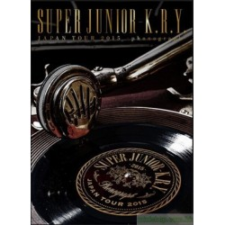 SUPER JUNIOR-K.R.Y. LIVE DVD&Blu-ray「SUPER JUNIOR-K.R.Y. JAPAN TOUR 2015 ~phonograph~」12月2日リリース決定!!