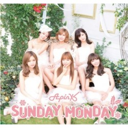 [台版送海報]Apink Sunday Monday CD+小卡初回盤