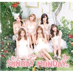 [台版送海報]Apink Sunday Monday CD+DVD初回盤