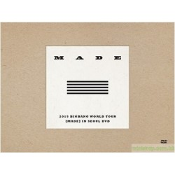 BIGBANG 『2015 BIGBANG WORLD TOUR [MADE] IN SEOUL DVD』日版