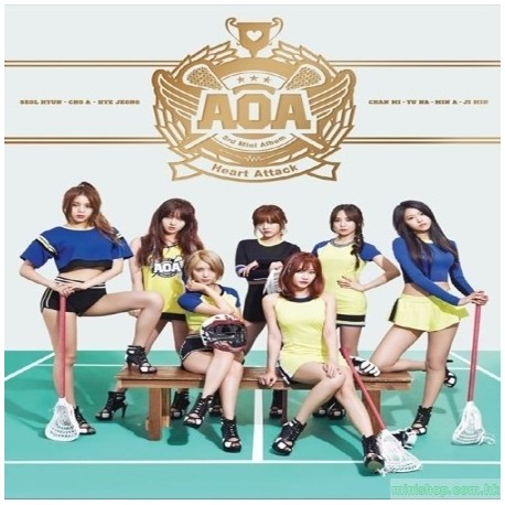 AOA- HEART ATTACK 韓版