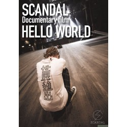 "SCANDAL ""Documentary film 「HELLO WORLD」""【Blu-ray】"