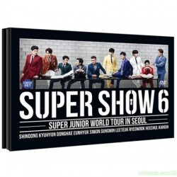 [DVD]SUPER SHOW 6 : SUPER JUNIOR WORLD TOUR IN SEOUL  韓版