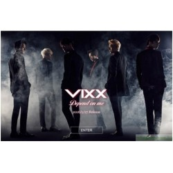 VIXX Depend on me 日版