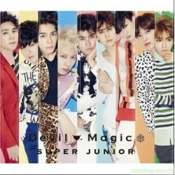 SUPER JUNIOR Single「Devil / Magic」 日版