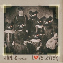 Jun.K (From 2PM)  Love Letter [Standard Edition] A版 CD+DVD 日版