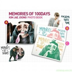 JYJ : Kim Jae Joong 金在中 - MEMORIES OF 100 DAYS DVD