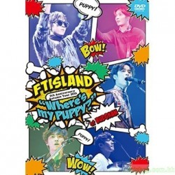 "FTISLAND Autumn Tour 2015 ""Where's my PUPPY?""DVD/Blu-Ray日版"