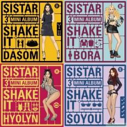 SISTAR - Mini Album Vol.3 [Shake It] 韓版