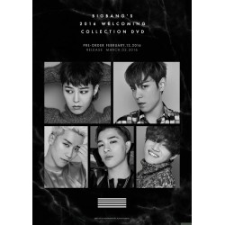 BIGBANG'S 2016 WELCOMING COLLECTION DVD 韓版