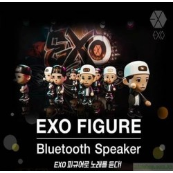 EXO FIGURE BLUETOOTH SPEAKER  (公仔)藍芽喇叭‎