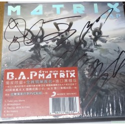 B.A.P MATRIX獨家限量個人親筆簽名進口版