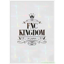 2015 FNC KINGDOM IN JAPAN  DVD/Blu-ray 日版
