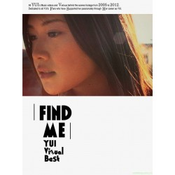 YUI「FIND ME YUI Visual Best」DVD / Blu-ray