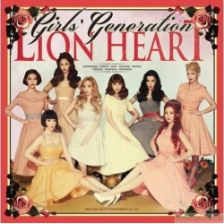 台版 CD+DVD 少女時代/GIRLS' GENERATION Lion Heart 台灣獨家盤 CD+DVD