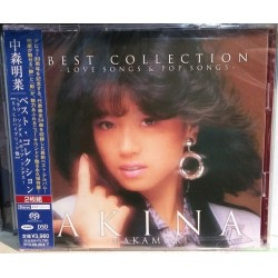 中森明菜BEST COLLECTION LOVE SONGS & POP SONGS-(2SACD-HYBRID)日版