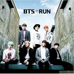 BTS 防彈少年團 RUN-Japanese Ver.-【初回限定盤】(CD+DVD)