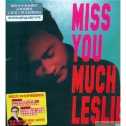 張國榮 Miss You Much, Leslie (3CD + DVD)