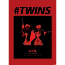 TWINS  LOL LIVE IN HK (3DVD + 2CD)