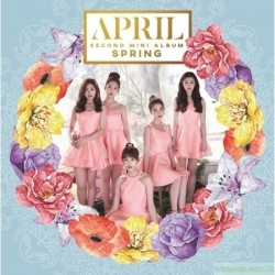 APRIL - SPRING (2ND MINI ALBUM) 韓版