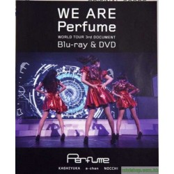 Perfume -WORLD TOUR 3rd DOCUMENT」 Blu-ray & DVD