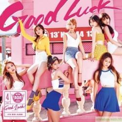 AOA Good Luck台灣獨占WEEKEND版 CD+DVD