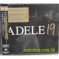 ADELE 19 - DELUXE EDITION 2CD  日版