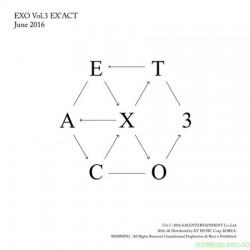 EXO  第三張正規專輯  韓版