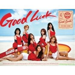 AOA Good Luck台灣獨占WEEK版 CD+台灣獨占贈品
