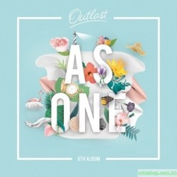 AS ONE - VOL.6 [OUTLAST] 韓版